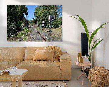 verlaten spoorlijn op de Hünsruck van Jeroen Franssen