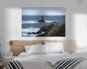 Vuurtoren van la Vieille in Bretagne van OCEANVOLTA