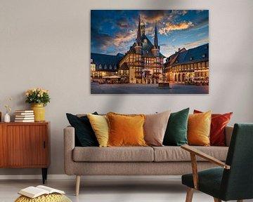 Rathaus von Wernigerode von Michael Abid