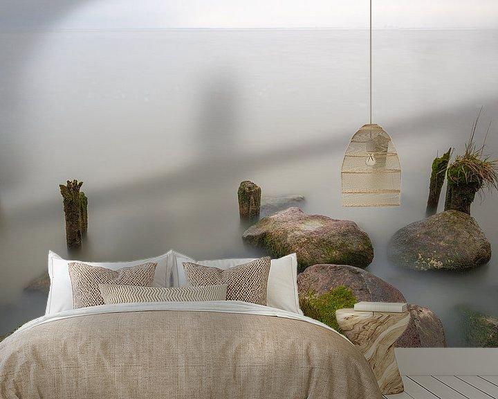 Sfeerimpressie behang: Aan de waterkant van Mark Bolijn