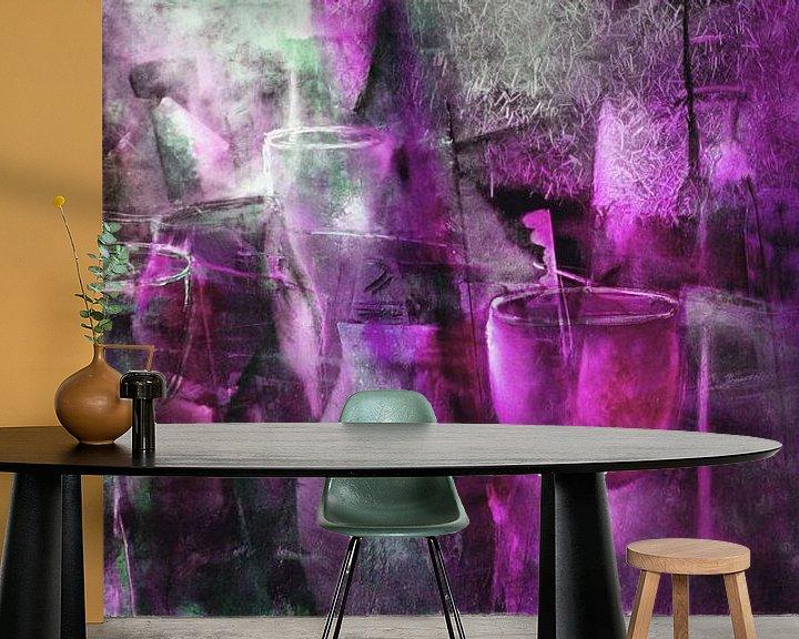 Beispiel fototapete: Party in pink von Annette Schmucker