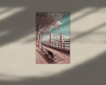 LONDRES Au bord de la Tamise | style vintage urbain sur Melanie Viola