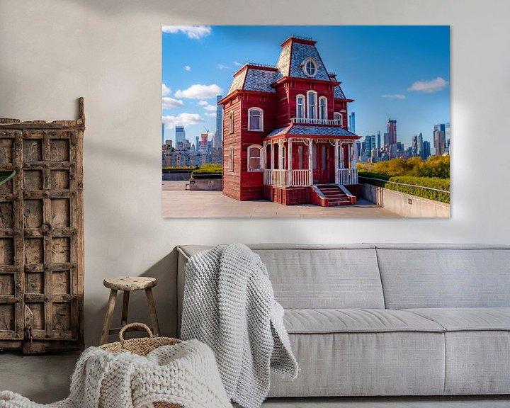 Sfeerimpressie: Haunted house New York van Thomas Bartelds