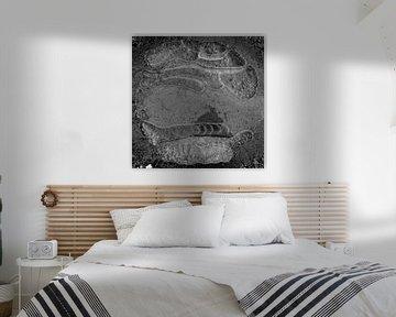 Struktur im Eis von Jan Tuns