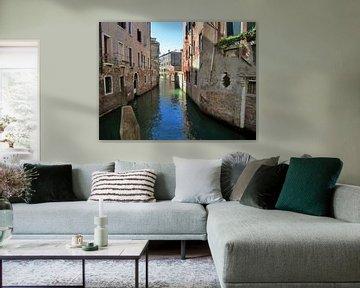 Blick durch Venedig von Jolanda Post
