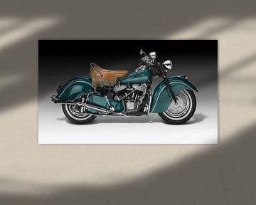 Motorfiets Klassiekers van Achim Prill