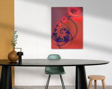 leuchtende Spirale 11 von Claudia Gründler