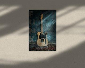 Telecaster Guitare électrique Funk sur Bert-Jan de Wagenaar