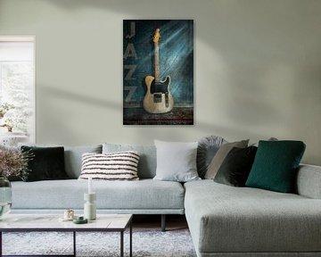 Telecaster Elektrische gitaar Jazz van Bert-Jan de Wagenaar