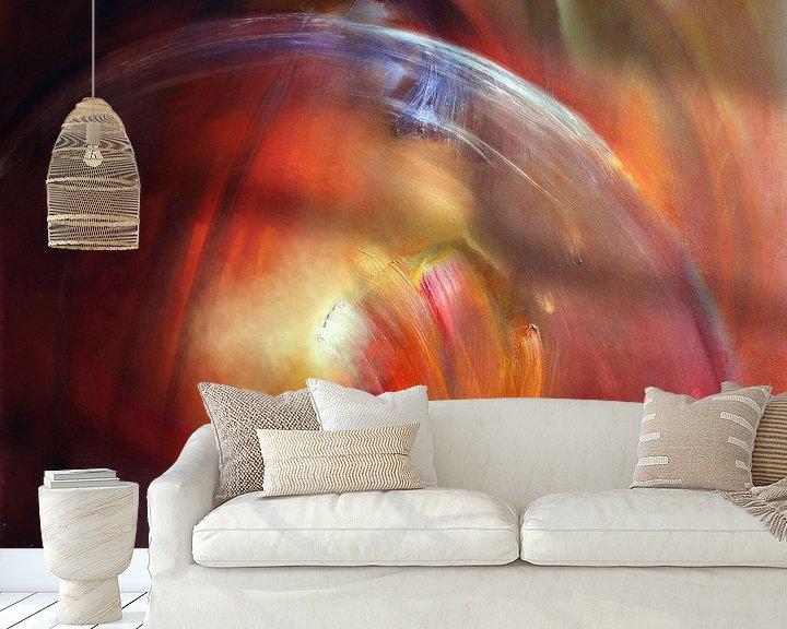 Sfeerimpressie behang: Bubble van Annette Schmucker