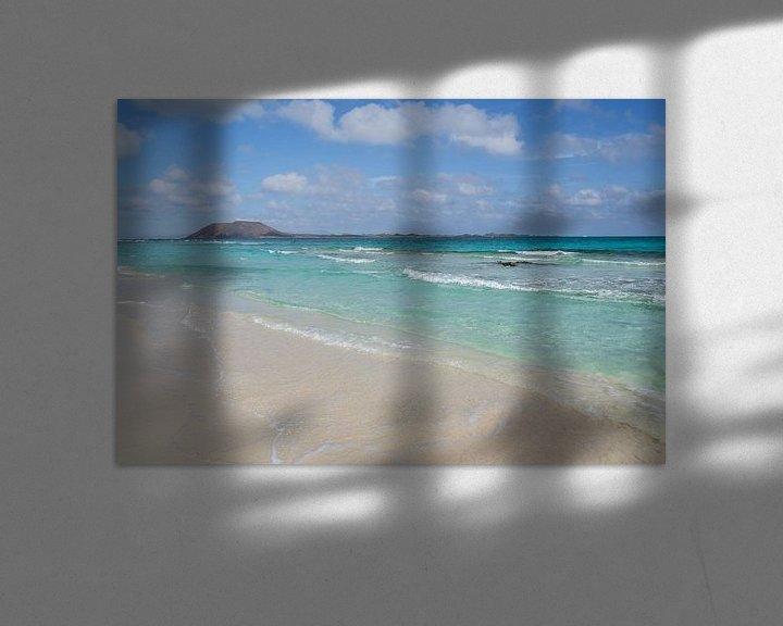 Sfeerimpressie: Playa de las dunas CORRALEJO (Fuerteventura) van Marian Sintemaartensdijk