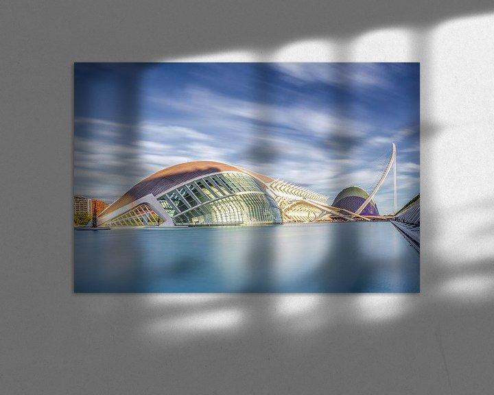 Sfeerimpressie: CITY OF ART AND SCIENCES,VALENCIA,SPAIN part I van Gerrit de Groot