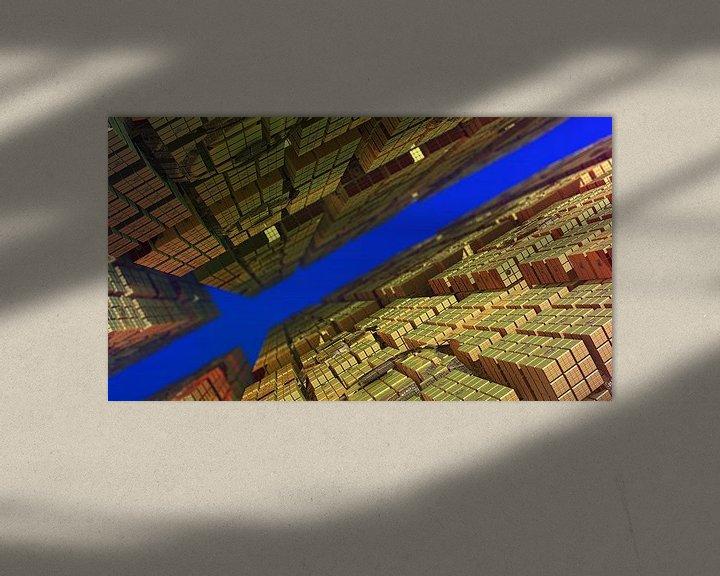 Sfeerimpressie: Tussen de kubussen van Frank Heinz