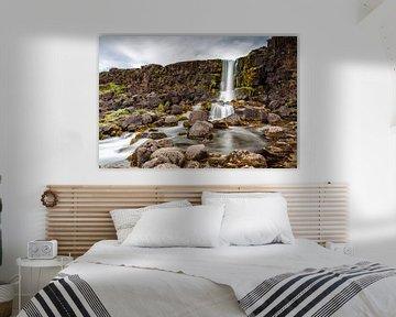 De Oxarfoss in IJsland