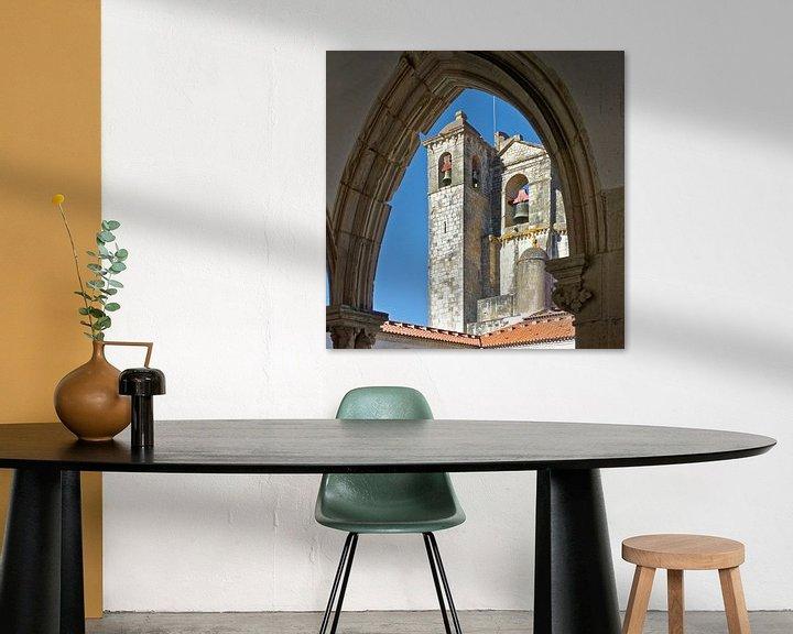 Sfeerimpressie: Portugal: de kerk van de Tempeliers in Tomar van Berthold Werner