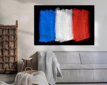 Symbolische Nationalflagge Frankreichs von Achim Prill
