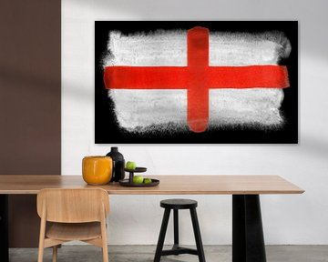 Symbolische Nationalflagge Englands von Achim Prill