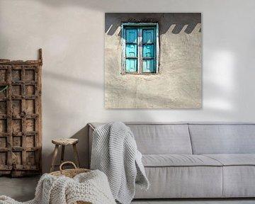 Blauw raam van Artstudio1622
