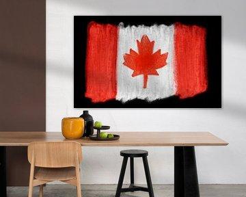 Symbolische Nationalflagge Kanadas von Achim Prill