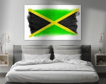 Symbolische Nationalflagge Jamaikas von Achim Prill