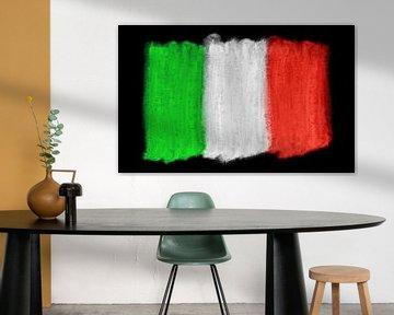 Symbolische Nationalflagge Italiens von Achim Prill