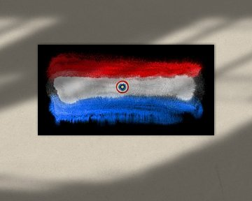 Symbolische Nationalflagge Paraguays von Achim Prill