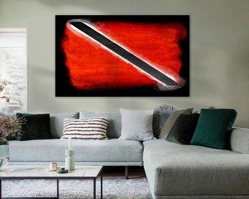 Symbolische Nationalflagge von Trinidad und Tobago von Achim Prill