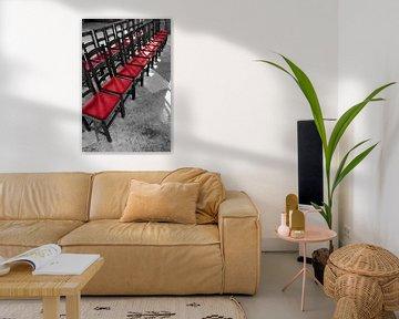 Stühle im Magdeburger Dom von Heiko Kueverling