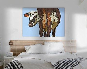 Kuh von Schildersatelier van der Ven