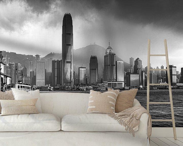 Sfeerimpressie behang: HONGKONG 35 - Het tyfoonseizoen van Tom Uhlenberg