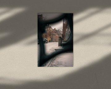 Blick durch die Solwerderstraat Appingedam von Martijn Werkman