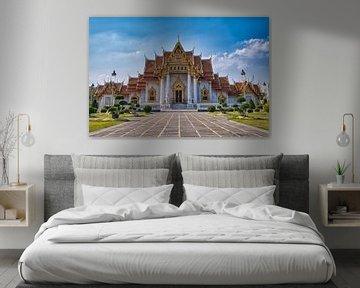 Temple de marbre à Bangkok sur Bernd Hartner