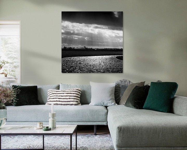 Beispiel: Wind und Winter im Wasserland von Rene  den Engelsman
