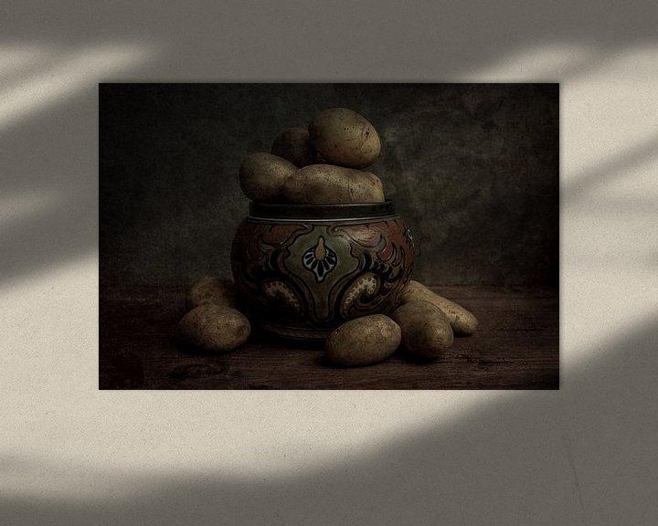 Sfeerimpressie: Aardappels stilleven van Gogh van Elly van Veen