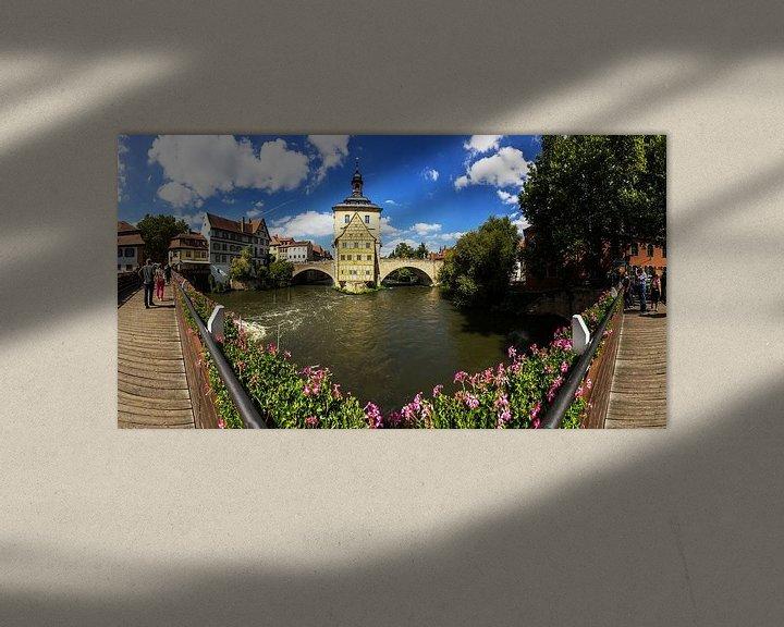 Impression: Bamberg - Panorama de l'ancien hôtel de ville sur Frank Herrmann