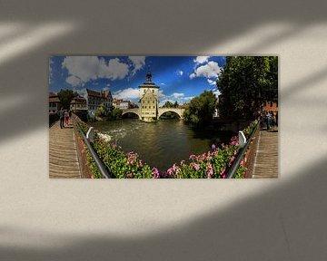 Bamberg - Panorama de l'ancien hôtel de ville