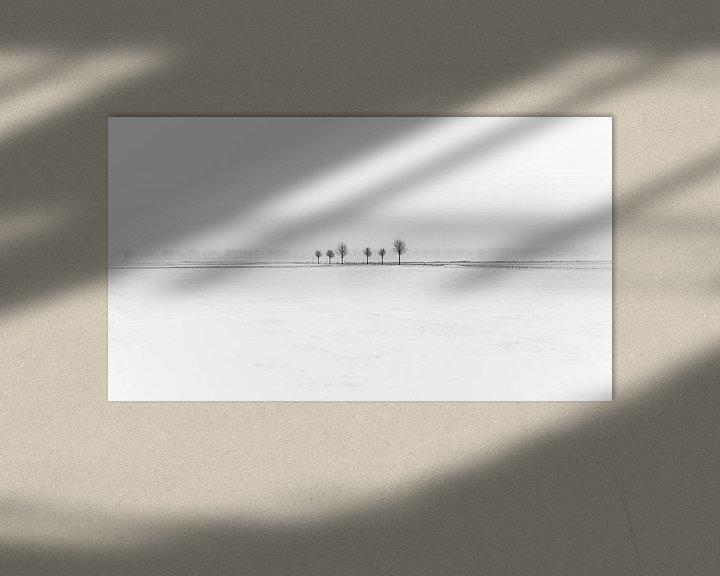 Sfeerimpressie: Winters minimalisme van Mark Bolijn