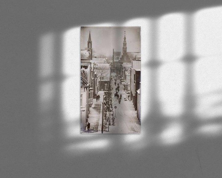 Sfeerimpressie: Winters Purmerend van Jan van der Knaap
