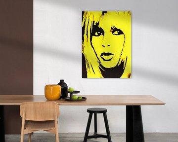 """Brigitte Bardot """"Fatal"""" von Kathleen Artist Fine Art"""