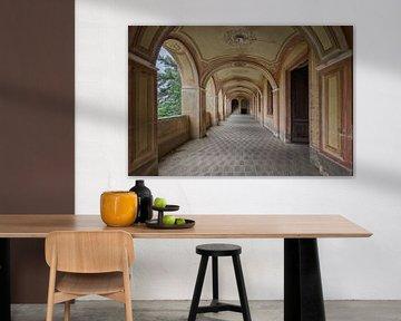 Lost Place - Oriental Hallway