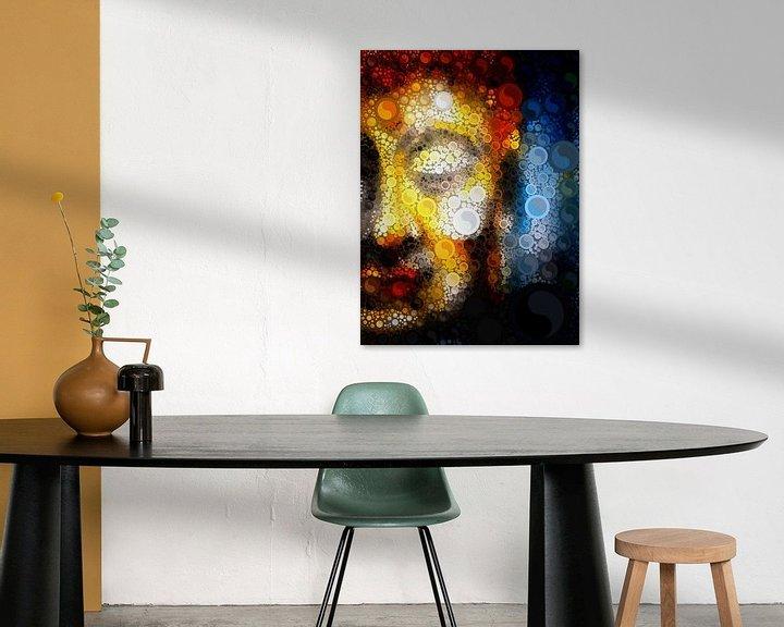 Beispiel: Buddha Blur with Yin & Yang von Michael Ladenthin