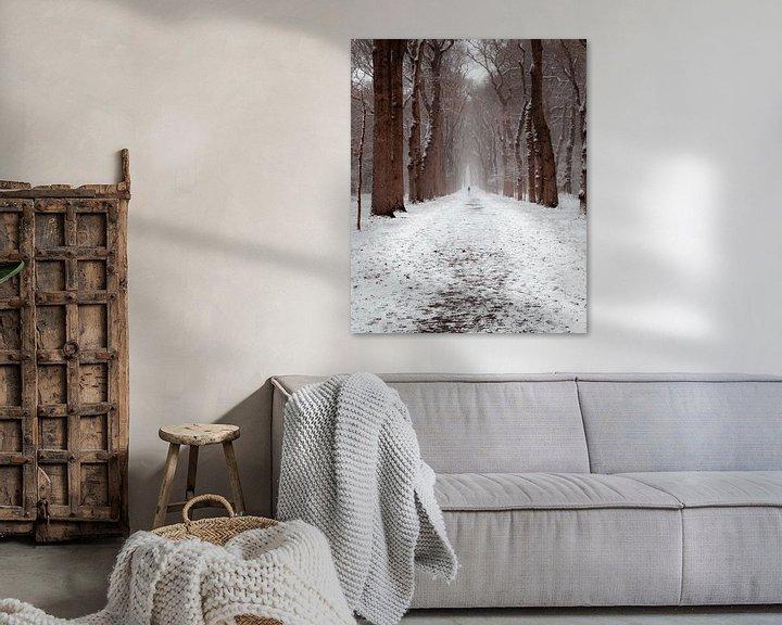 Beispiel: Wintertag in den Niederlanden von Colin Bax
