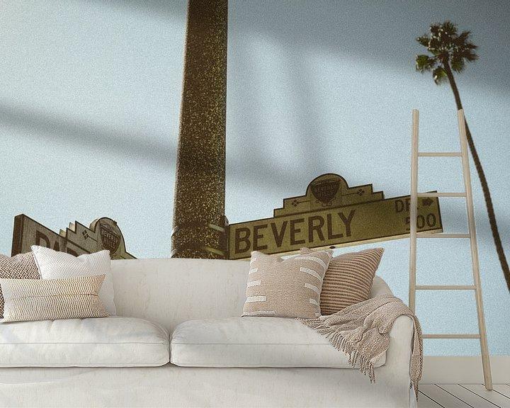 Beispiel fototapete: Vintage Beverly Hills, Los Angeles, Kalifornien, Vereinigte Staaten von Colin Bax