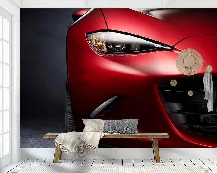 Sfeerimpressie behang: Mazda MX5 ND van Thomas Boudewijn