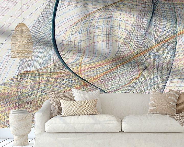 Beispiel fototapete: Geometria #CXLVII von Dietmar Meinhardt
