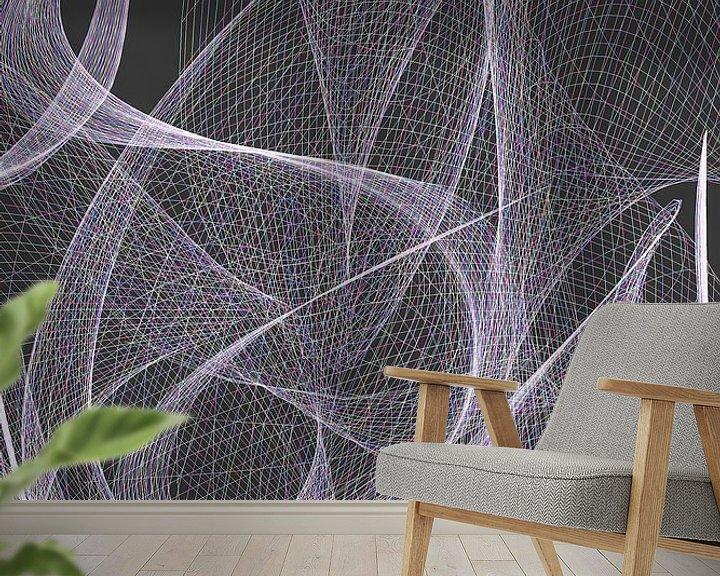 Beispiel fototapete: Geometria #CLIV von Dietmar Meinhardt