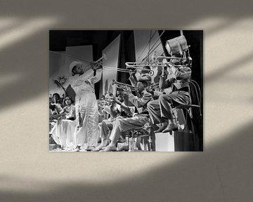 Louis Armstrong, Doctor Rythm 1938 Réalisé par Frank Tuttle sur Bridgeman Images