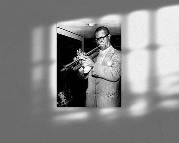 Jazzman Louis Armstrong 18 december 1956 van Bridgeman Images