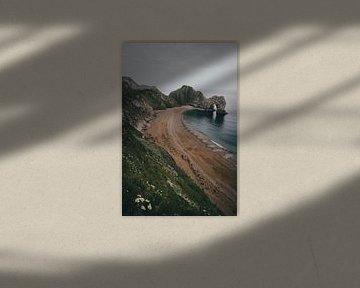 Durdle Door, Jurassic Coast, Verenigd Koninkrijk II van Tom in 't Veld