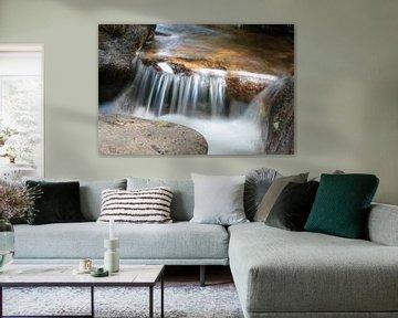 Watervalletje in Oostenrijk van Jeroen Gutte